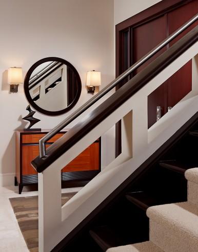 staircase handrail detail