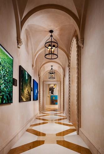 wittmann interior hallway