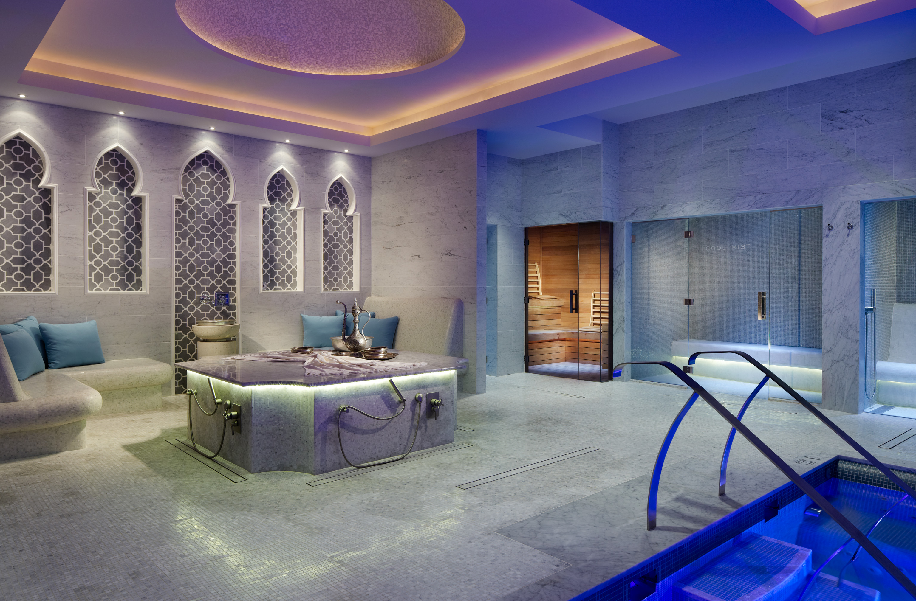 The spa at glenmere mansion for Weekend spa getaways ny